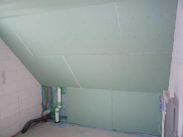 bautagebuch blog archiv trockenbau rigipsplatten wurden angebracht. Black Bedroom Furniture Sets. Home Design Ideas